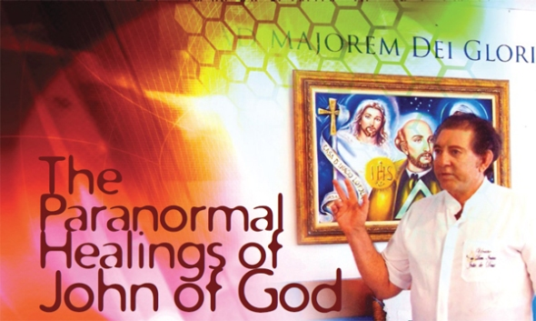 "Read about John of God, The Miracle Man of Brazil in ""In Focus"" magazine"